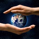 Earth in Two hands