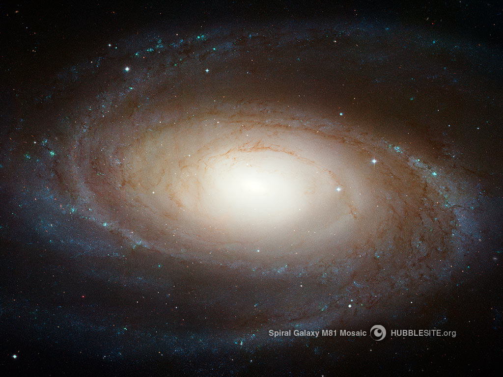 Hubble Photographs Grand Design Spiral Galaxy M81
