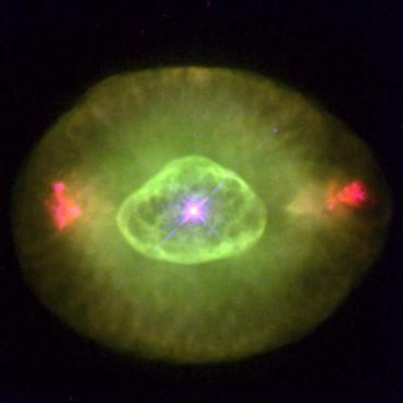 Eye-Shaped Planetary Nebula NGC 6826