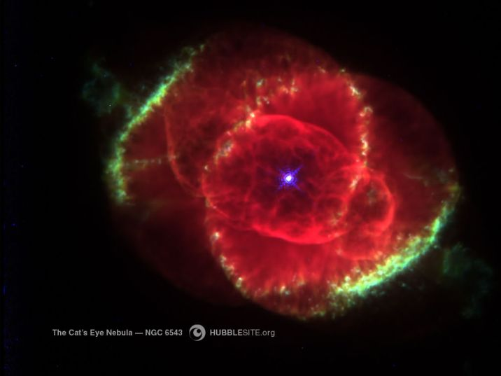The Cat's Eye Nebula 1